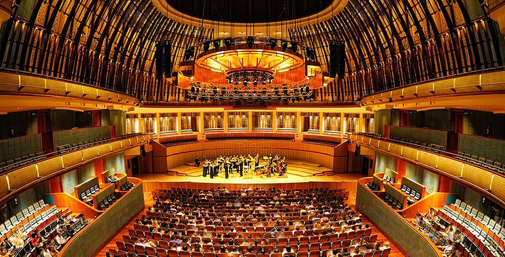 Concert Hall, Esplanade Theatres on the Bay